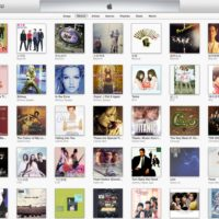 iTunes 11 Albums Cover View 1